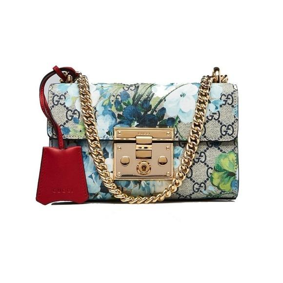 d525f4d9b625 Gucci Bags | Coated Canvas Supreme Blooms Small Padlock | Poshmark